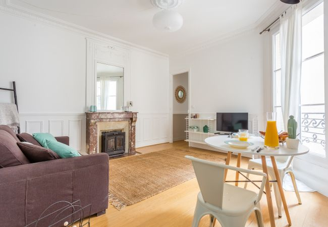 in Paris - Poncelet - Comfy 1BR in a typical parisian neighborhood
